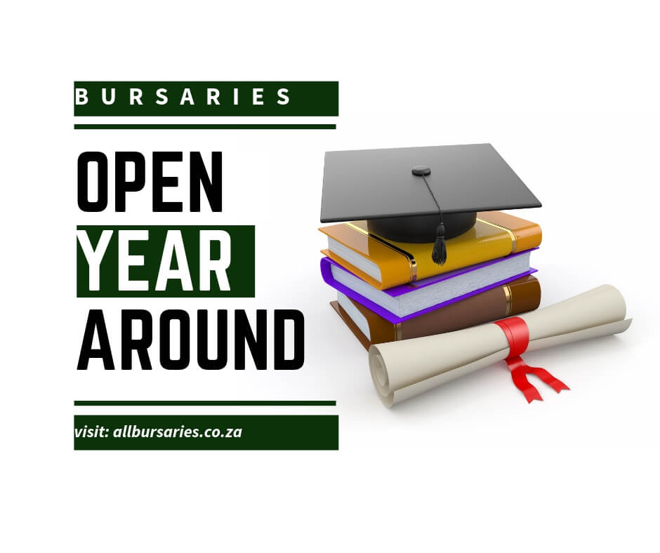 Bursaries Open All Year Round